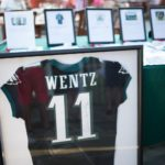 Carson Wentz Jersey Display
